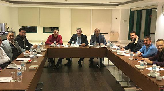 Dernek Yönetim Kurulu ve Sektör Kurulu Yöneticileri Toplantısı